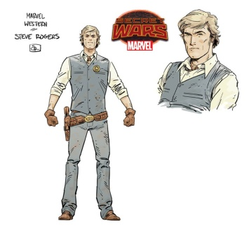 Marvel's renditions of their many infamous characters all feel very real and very fitting in this Western Genre.